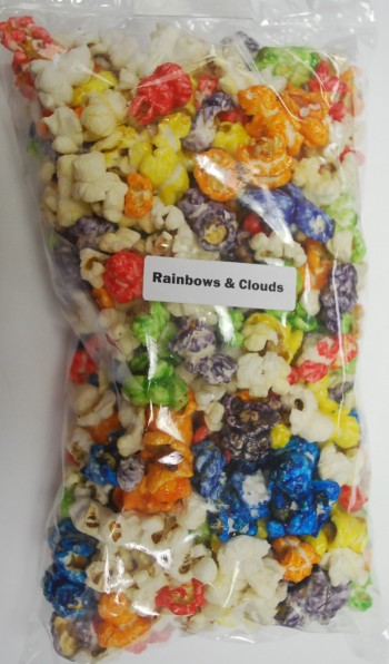 Image for Rainbows & Clouds Popcorn